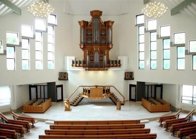 Nieuwbouw kerk in Amersoort