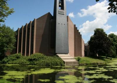 Nieuwbouw kerk in Bunschoten