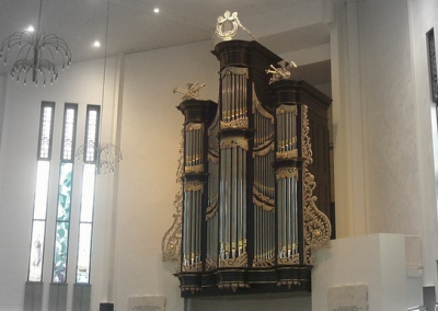 Nieuwbouw kerk in Tholen
