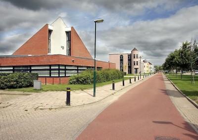 Nieuwbouw kerk in Houten
