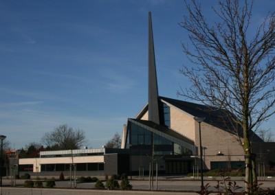 Nieuwbouw kerk in Dirksland