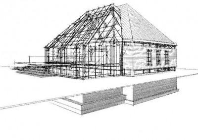 Nieuwbouw vrijstaande woning in Den Ilp
