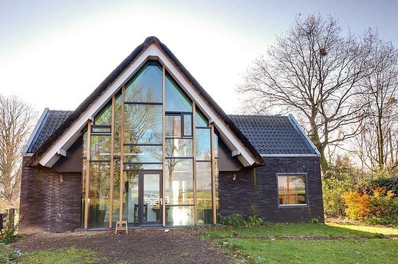 Nieuwbouw vrijstaande woning in groenekan valk architecten for Nieuwbouw vrijstaande woning