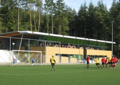 Nieuwbouw clubgebouw voetbalvereniging