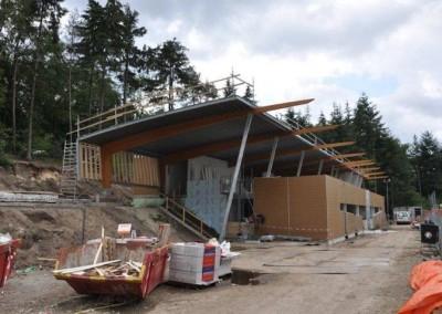 Nieuwbouw clubgebouw voetbalvereniging Soesterberg