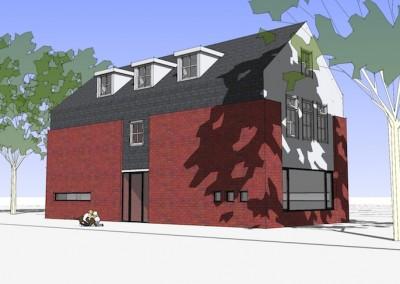 Ontwerpstudie nieuwbouw vrijstaande woning, Soest