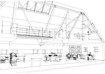 Verbouwing schuur met herbestemming kantoor