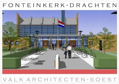 Verbouwing en renovatie kerk in Drachten
