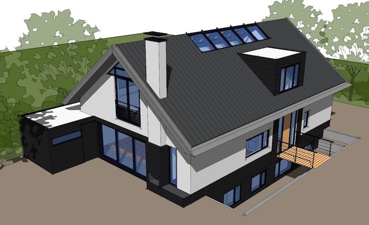 Nieuwbouw vrijstaande woning met bijgebouw soest valk for Nieuwbouw vrijstaande woning