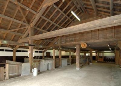 Nieuwbouw woning in bestaande veestal, Soest