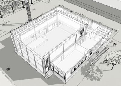 Verbouwing en renovatie kerk in Gouda