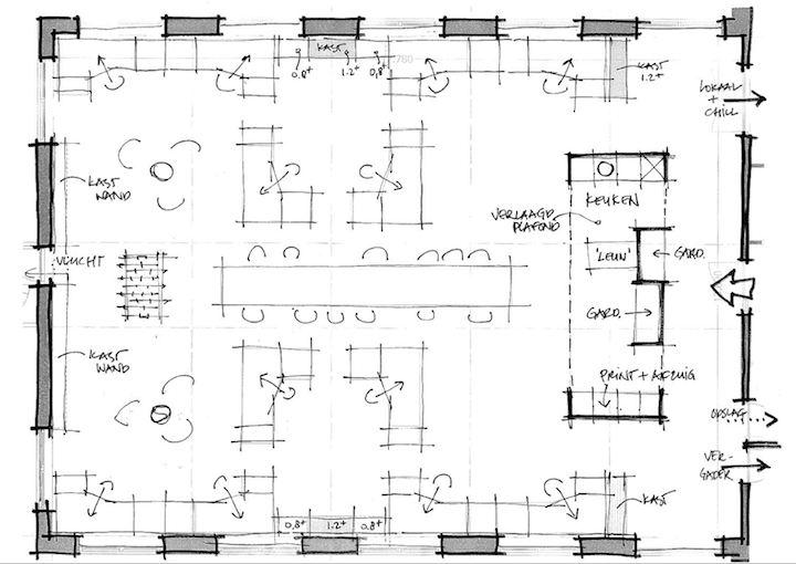 Verbouwing interieur kantoor, Zeist - Valk Architecten