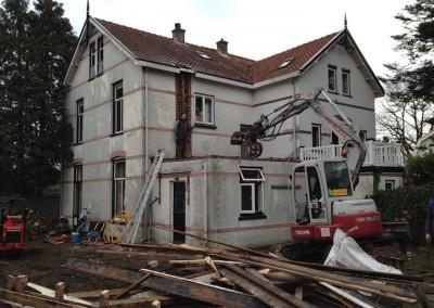 Verbouwing en uitbreiding woning, Soest