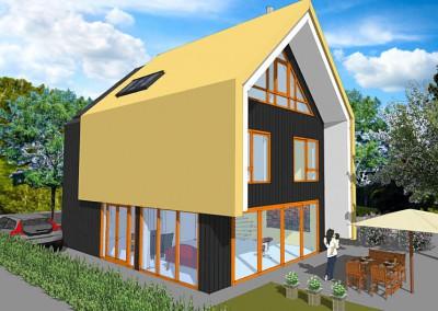 Nieuwbouw vrijstaande woning, Hilversum